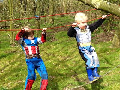 Super Heros - Manor Farm